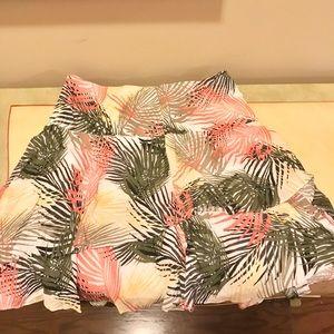 WHBM Hawaiian Print Skirt